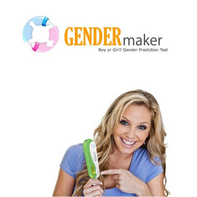 GENDERmaker baby gender prediction test