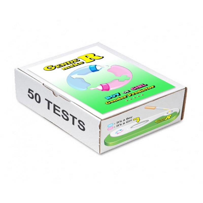 50 GENDERmaker test