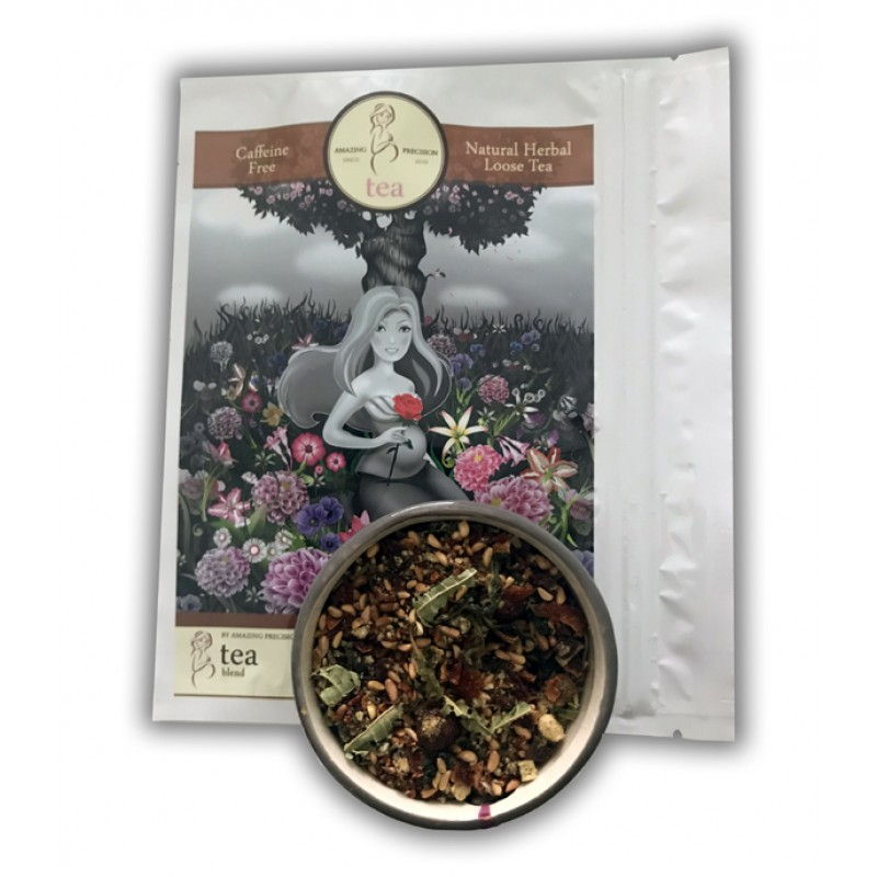 Herbal Natural Caffeine Free Loose Tea blend during and after Pregnancy